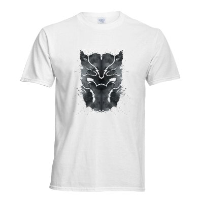Blot Panther Superheroes T Shirt