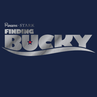 Finding Bucky Marvel T Shirt