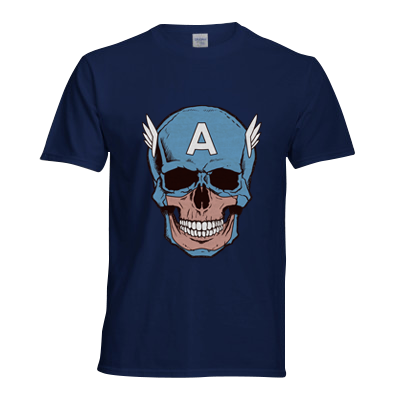Captain Amerikilled Superhero T Shirt