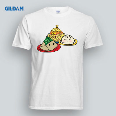 Malaysia Muhibah Local Food T Shirt Design