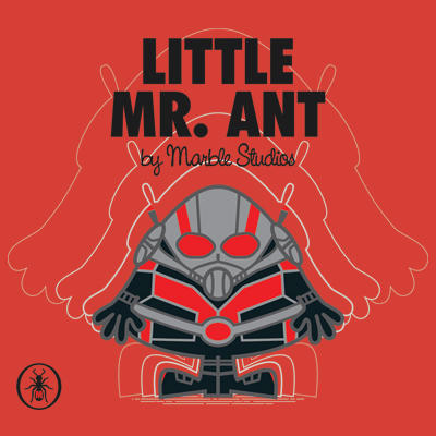 Little Mr Antman Marvel Superhero T Shirt