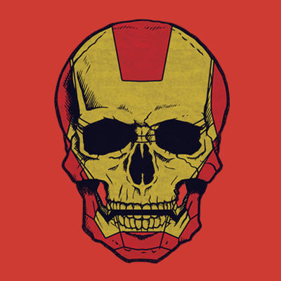 Iron Mourn Superhero T shirt
