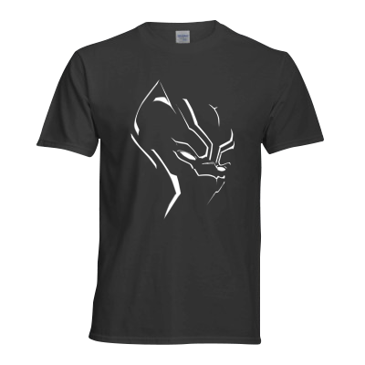 Black Panther Superhero T Shirt
