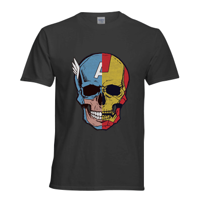 The Death of Marvel Civil War T Shirt